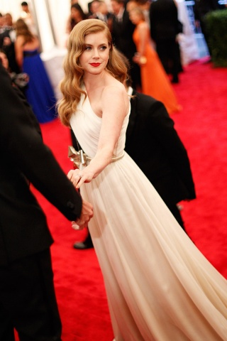 Amy Adams met gala 2012