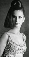 Brigitte Bauer is wearing Uli Richter, Petra (Germany) September 1966