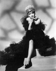 "Marlene Dietrich in ""The spoilers"""