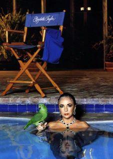 Elizabeth Taylor By Helmut Newton