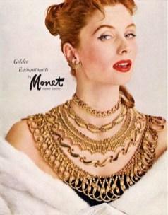 Suzy Parker for Monet