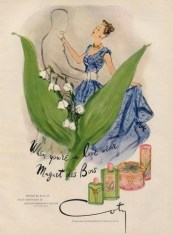 Muguet des Bois, Coty, 1947