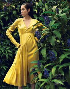 Kiko Mizuhara in Dior for 25ans Magazine December 2016.