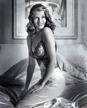 Rita Hayworth cover