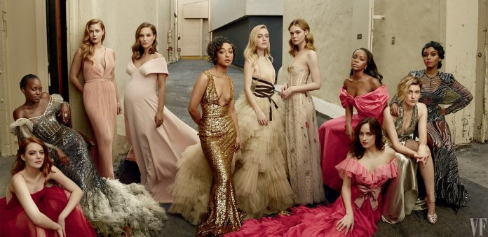 The 2017 Vanity Fair Hollywood Issue Cover