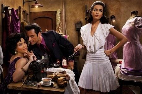 Rodrigo Santoro, Jennifer Lopez and Camilla Belle