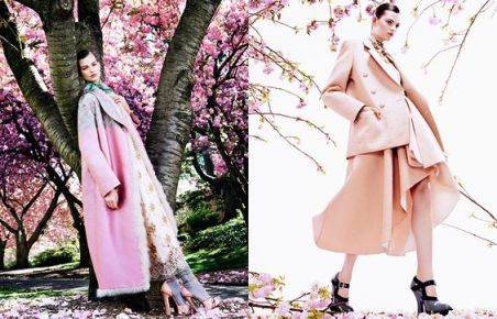 The Enchanting Promise Vogue Japan February 2013 Photographed by Mark