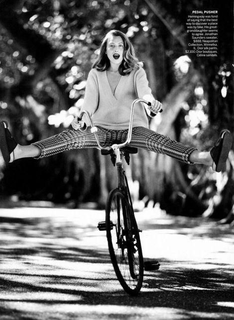 Dree Hemingway by Bruce Weber, Vogue June 2013