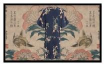 Among Hokusai flowers and birds