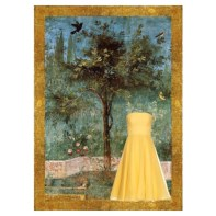 Dreaming of a perfumed and singing garden (Alexander McQueen and Villa di Livia painting)