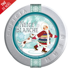 Neige blanche by Lupicia : Perfumed black tea (white chocolate, nuts and apricot)