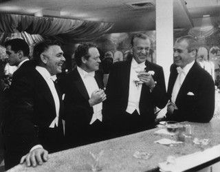 Gary Cooper and Clark Gable 1957