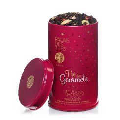 Thé des gourmets : Perfumed black tea by Palais des Thés (almond, cherry and cranberry)