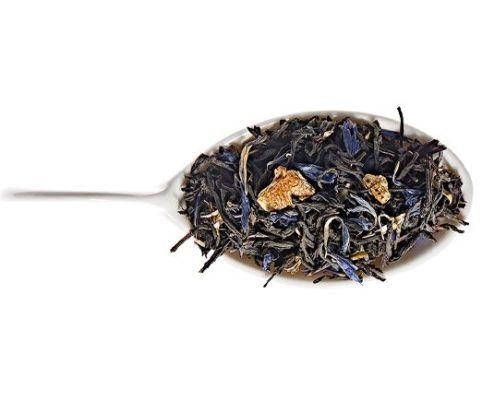 Thé Noel en Alsace by Comptoir Français du thé : Perfumed black tea (orange, spices and cornflower petals)