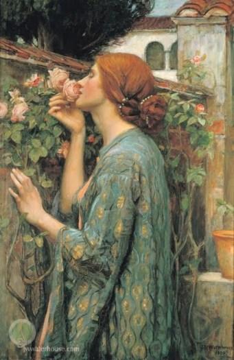 The soul of the rose, John William Waterhouse, 1908