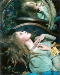 Saoirse Ronan in The cult of beauty shot by Steven Meisel for Vogue US December 2011