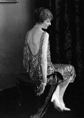 Actress Alden Gay wearing Chanel 1924