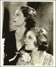 Sally Blane and oretta Young