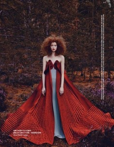 Red forest Vogue Taiwan November 2014