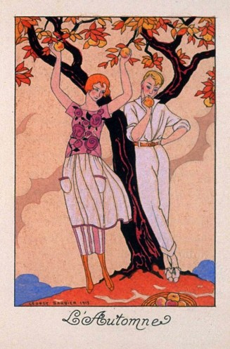 L'Automne by George Barbier 1919