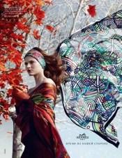 Fall 2012 Hermès ad by Nathaniel Goldberg