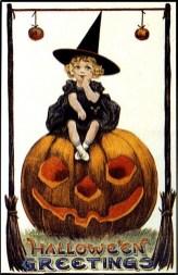 Vintage Halloween greeting