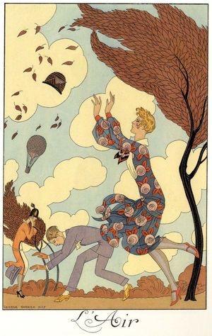 L'air by George Barbier 1925