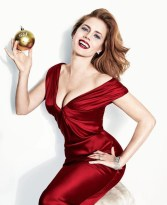 Amy Adams by Norman Jean Roy for Vanity Fair January 2014, Christmas editorial