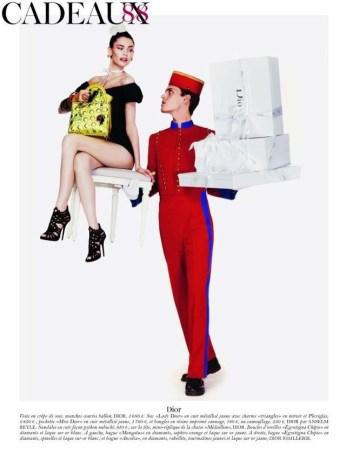 Joyeux noël by Giampaolo Sgura for Vogue Paris
