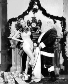 Peggy Dow Christmas 1950s