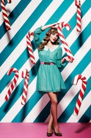 Christmas candy photoshoot