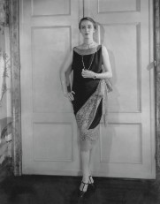 Marion Morehouse wearing Callot 1927