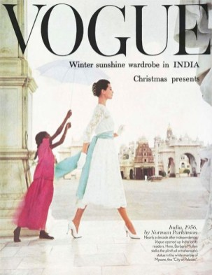 Barbara Mullen by Norman Parkinson for Vogue 1956