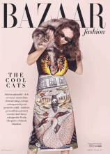 Ada Tache by Oltin Doogaru for Harper's Bazaar Romania