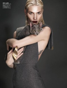 Aline Weber by Nat Prakobsantisuk for Vogue Thailand February 2014
