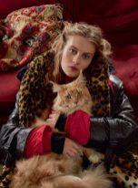 Florence Kosky by Agata Pospieszynska for Harper's Bazaar uK September 2018