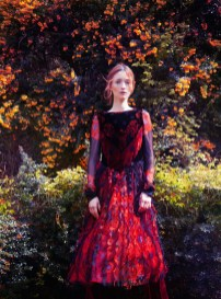 Audrey Marnay by Erik Madigan Heck for UK Harper's Bazaar October 2015