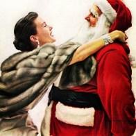 1950s Christmas Santa
