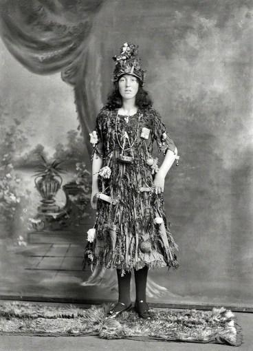 Christmas tree costume 1900s