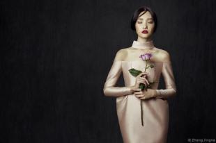 A rose by Zhang Jingna