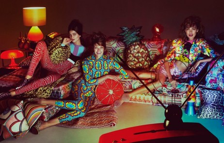 Funky fashion and furnishings with a retro feel, How to spend it, photo by Andrew Yee