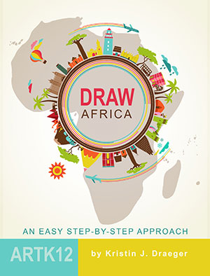 Draw Africa by Kristin Draeger