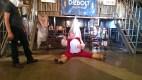 Falstaff, um, falling down.