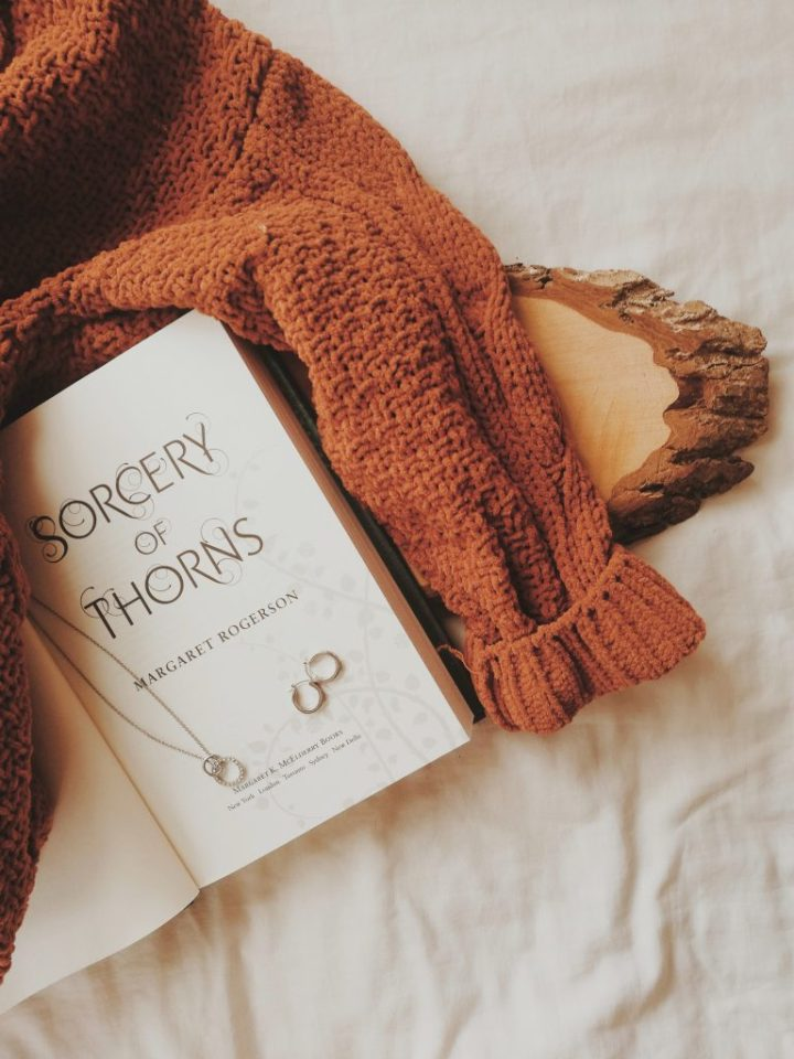 sorcery of thorns, open book