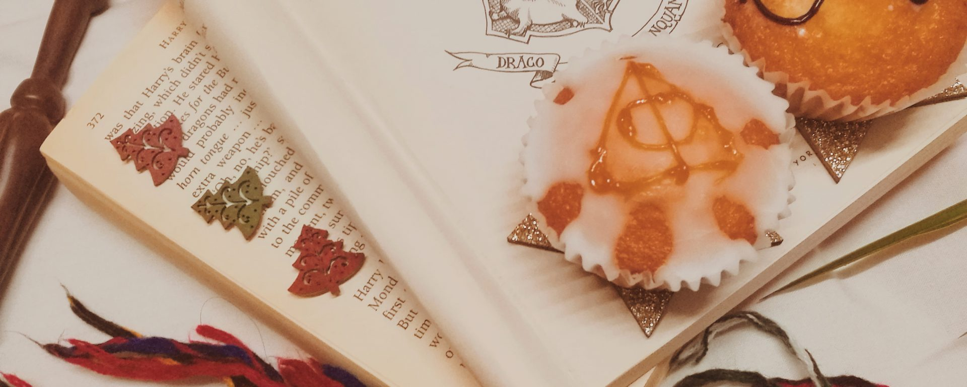 baking treats inspired by books and tv shows (harry potter) blogmas