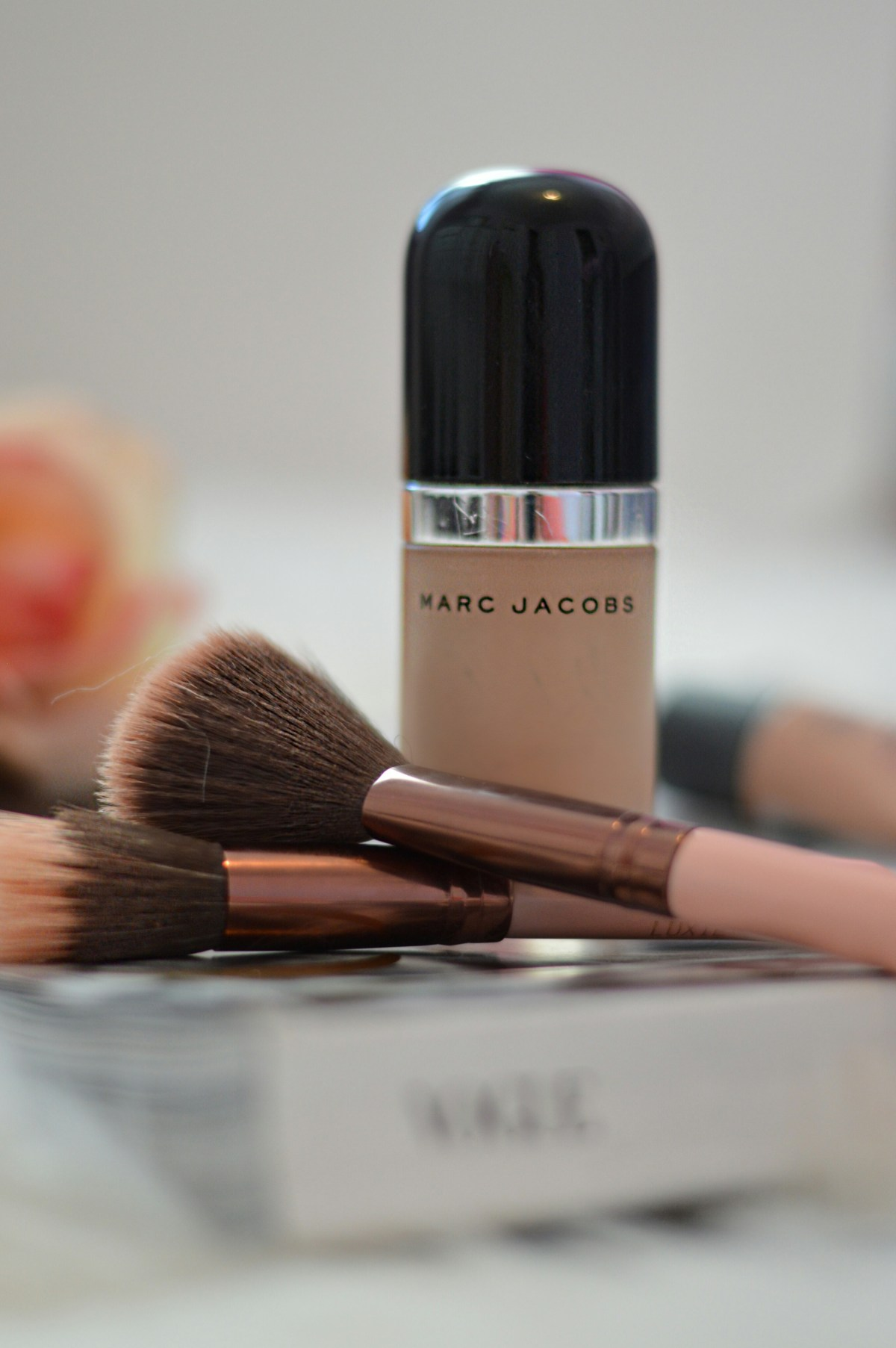 Georgia Lifestyle blogger Miss Magnolia Soul's beauty review on Marc Jacobs Remarcable Full Coverage Foundation Make Up
