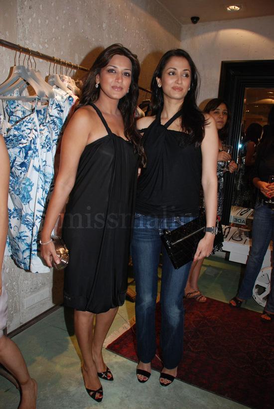 Sonali Bendre and Gayatri Joshi