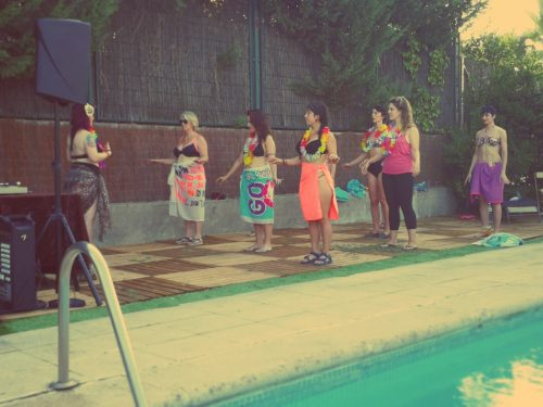 BURLESQUE POOL PARTY