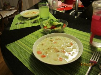 Cream of chicken soup ligth 012