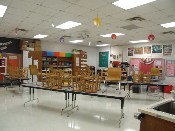 Art Classroom Organization